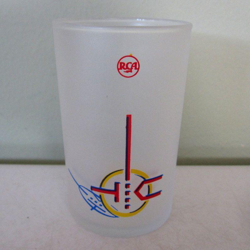 Rca new york 1939 world s fair memorabilia 4 glasses from