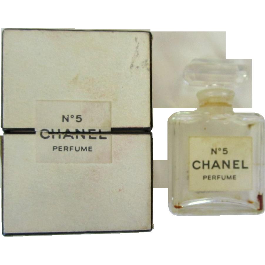 Chanel Väskor Vintage : Vintage chanel perfume bottle box s no