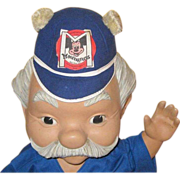 Mousketeer Hat, Old Benay Albee Beanie, Vintage