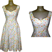 Rhinestone Party Dress, Vintage Jitterbug