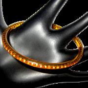 Art Deco Rhinestone Bracelet, Celluloid Sparkle, 20's