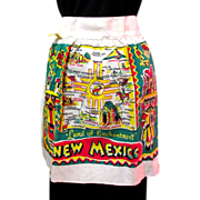 New Mexico Apron, Vintage State