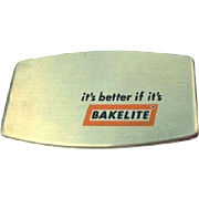 60's Zippo Pocket Knife, Bakelite Advertising