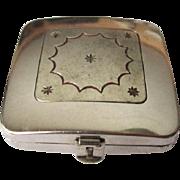 Vintage Hudnut Compact, Art Deco DuBarry