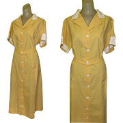 Vintage Waitress Uniform, Angelica, Large, 1950's