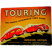 Touring Card Game, 1937, Box & Instructions