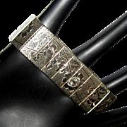 60's Mesh Bracelet, Sarah Coventry Floral