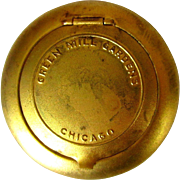 Green Mill Chicago Memorabilia, Vintage Ladies Compact