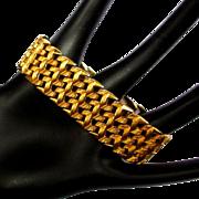 Vintage Grosse Bracelet, Textured Weave, 1959, GP, Germany