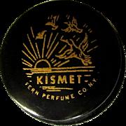 Vintage Kismet Perfume, Fern Perfume, NY, Solid