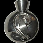 Vintage Pin, Posey Holder Tussie Mussie Flower Vase Brooch