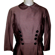Jacket Dress, Vintage 1960's Office