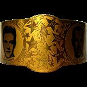 1930's Hollywood Art Deco Bracelet, Stars