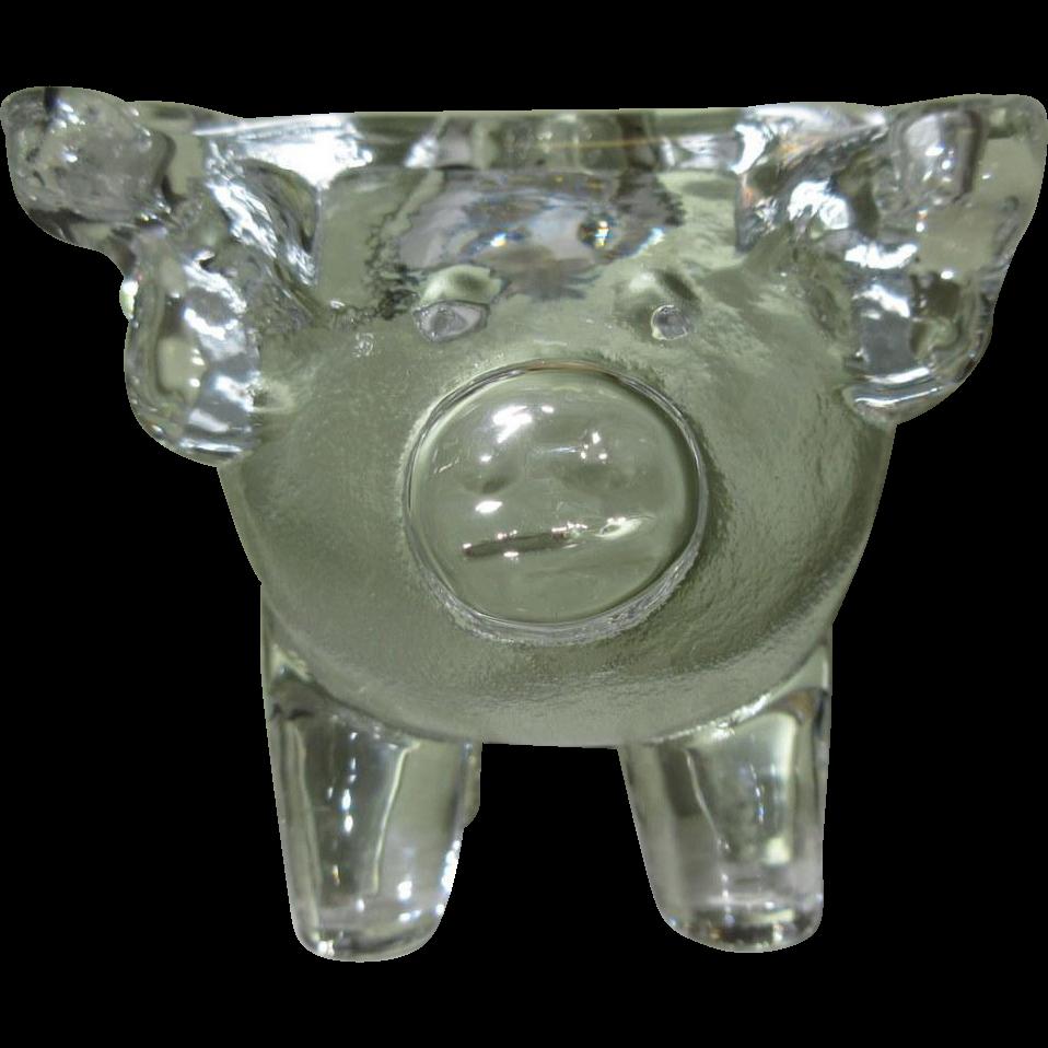 Vintage candle holders glass fenton vintage art carnival for Transparent glass wall