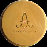 Vintage Avon Cake Make-Up, 1940's Vanity