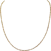 Gold Filled Chain, 20 inches Vintage