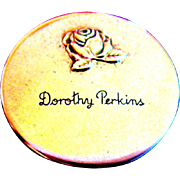 1940's Dorothy Perkins Compact, Rouge