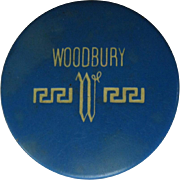 1930's Compact, Woodbury Rouge