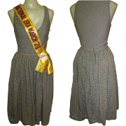 Jitterbug Skirt, Cotton Knife Pleated Vintage Smythe