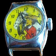 Dale Evans Flicker Watch, Buttermilk, 1950's  Western