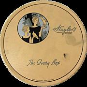 Vintage Huyler's Chocolate Tin, Deco, 1930's