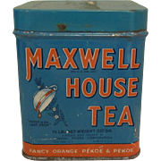 Maxwell House Tea Tin, Vintage