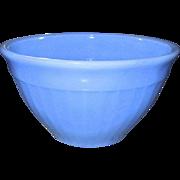 """Jeannette: Delphite 6"""" Vertical Ribbed Glass Bowl"""