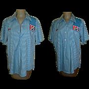 Vintage Pepsi Shirt, Distributor / Driver, Vintage USA