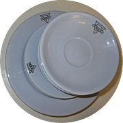 YMCA China, Vintage Restaurant Ware, Buffalo