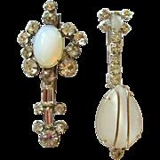Rhinestone Violin & Mandolin Pins, Vintage