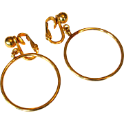 Hoop Earrings, Napier Vintage Classics
