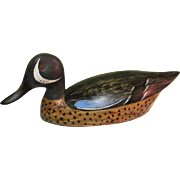 Wood Duck Decoy, Vintage Charles Moore