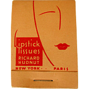 Hudnut Lipstick Papers, 1940's Deco