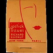Hudnut Lipstick Papers, 1940's Deco