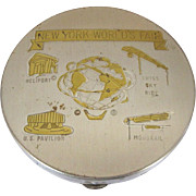 New York World's Fair, 1964 Vintage Compact