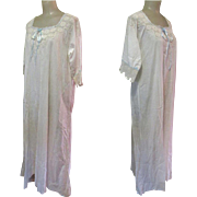 Victorian Nightdress, Lace & Ribbon, Full Length