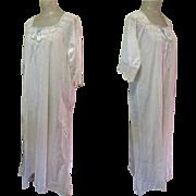 Victorian Nightdress, Lace & Ribbon, Full Length