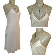Vintage Silk Slip / Nightdress / Chemise