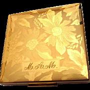 Elgin American Compact, Vintage Floral