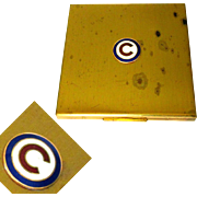 Chicago Cubs Compact, Vintage Elgin American