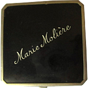 Vintage Compact, Marie Moliere, 1930's Rouge & Powder