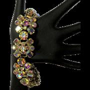 Juliana Rhinestone Bracelet, 5 link. AB stones
