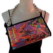 Wonder Woman Purse, Vintage Comic Book, 1977