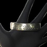 Vintage Sterling Cuff Bracelet, 1980's
