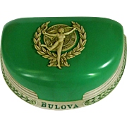 Bulova Presentation Box, Goddess of Time, Vintage Celluloid