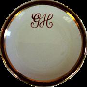 Arklow Restaurant Butter Dish, Vintage Ireland