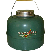 Vintage Olympic Thermos Gallon, Insulated Hot / Cold
