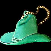 Cowboy Hat Key Chain, Vintage 40's 50's