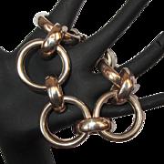 Sterling Bracelet, Mid Century Modern Napier, 40's 50's