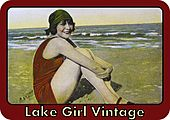 Lake Girl Vintage logo